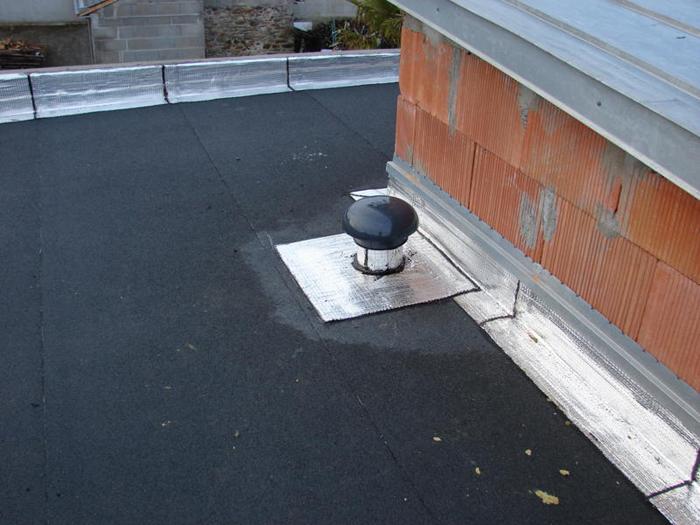 Etancheite toiture plate